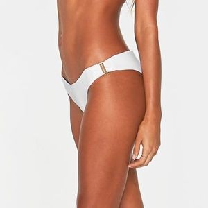 BNWT L*space Rosemary Bottoms White Size S